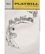 """46th St.Theatre Playbill """"NO, NO, NANETTE"""" May 1971 The New 1925 Musical - $3.00"""