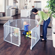 Baby and Toddler Plastic Play Yard Playpen Big Gate Dog Pet Safety Gate ... - $87.27
