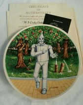 """1978 Knowles """"If I Only Had a Heart"""" Tin Man Wizard of Oz Plate COA NIP ... - €29,04 EUR"""