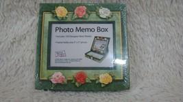 Photo Memo Box Includes 150 Designer Note Sheets, One 3 x 5 Photo, New S... - $5.99