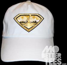 MJ Jordan Gold Super Dad Hat Custom Printed and Design baseball cap matc... - $14.99