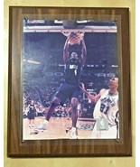 Vintage Official NBA photo of Michael Finley dunking over Tim Duncan - £95.30 GBP