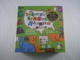 The Scrambled States of America Geography Game Award Winner NEW! - $9.89