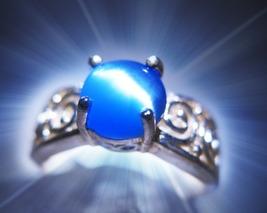 CASSIA4 HAUNTED RING ILLUMINATI BLAST OPEN YOUR 3rd EYE MYSTICAL TREASURE MAGICK - $377.77