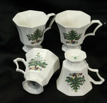 Nikko Christmastime Cups Lot of 4 - $15.67