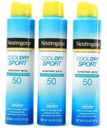 1 Neutrogena Cool Dry Sport Broad Spectrum SPF 50 Sunscreen Spray 5.0oz ... - $39.99