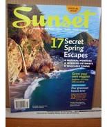 Sunset Magazine March 2008 17 Secret Spring Escapes - $8.99