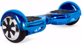 Chrome Blue Extreme Bluetooth 6.5 Hoverboard 2018 Two Wheel Balance Scoo... - $249.00