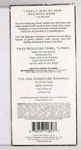 NEW Kristin Ess Frizz Reducing Towel Turban + Signature Shampoo Gift Set image 3