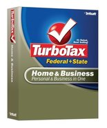 TurboTax Home & Business Federal + State 2007 [OLD VERSION] [CD-ROM] Win... - $38.09