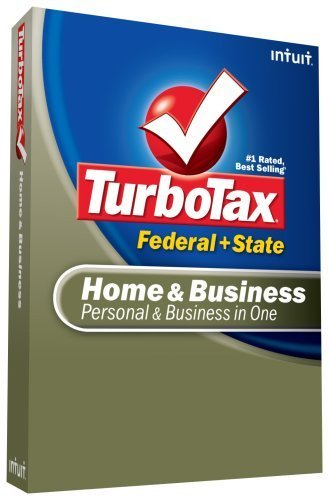 TurboTax Home & Business Federal + State + eFile 2008 [OLD VERSION] [CD-ROM] ... - $16.30