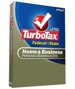 TurboTax Home & Business Federal + State + eFile 2008 [OLD VERSION] [CD-... - $16.30