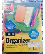 Lotus Organizer 5.0 - Control Your Time, Your Contacts & Your Informatio... - $98.99