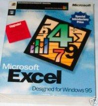 Microsoft Excel Windows 95 Upgrade [CD-ROM] - $19.80