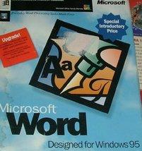 Microsoft Word Windows 95 Upgrade [CD-ROM] - $47.03