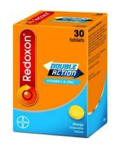 Redoxon Double Action Vitamin C & Zinc Orange Chewable Tablets 30s NEW - $16.90