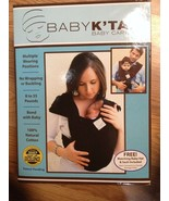 100% COTTON NEW BABY Infant CARRIER SLING K'TAN +Hat &Pouch BROWN 8-35lb... - $38.50