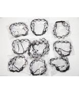 Wholesale10 Unisex Big Bead white Color Cz crystal Bracelet 12m Disco Ball - $79.15