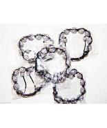Wholesale 5 Unisex Big Bead white Color Cz crystal Bracelet 12m Disco Ball - $49.45