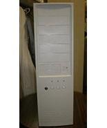 Big Full Tower Vintage AT Computer Case Build IBM PC 386 486 Pentium Enc... - $66.95