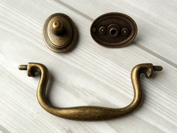 4 Quot Vintage Style Drawer Pulls Handles Dresser Pull Bail