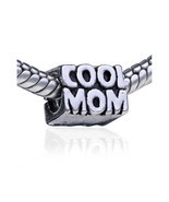 Pugster Mother Daughter Charms Bead Cool Mom European Bead Fit All Brands  - £8.98 GBP