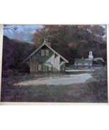 Cornwall Bridge, Connecticut on the Housatonic Railroad Framed Print - $12.99