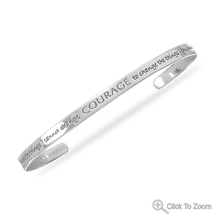 Sterling Silver Cuff Bracelet with the Serenity Prayer - $79.99