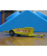Vintage Matchbox Series 38 yellow Honda Motorcy... - $7.99