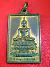 Very Rare! Ancient Holy Phra Buddha-Sihing Top Thai Buddha Amulets Last Left - $39.99