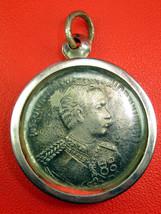 Very Rare! Rian Ror. 5 The Great King Rama 5 Top Thai Buddha Amulets Last Left - $19.99