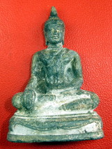 Very Rare! Ancient Holy Phra Chiang-Saen Top Thai Buddha Amulets Last Left - $19.99