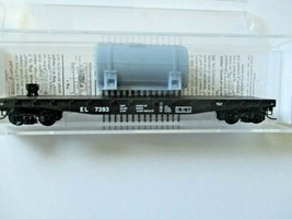 Micro-Trains # 04500540 Erie Lackawanna 50' Flat Car with Load N-Scale image 1