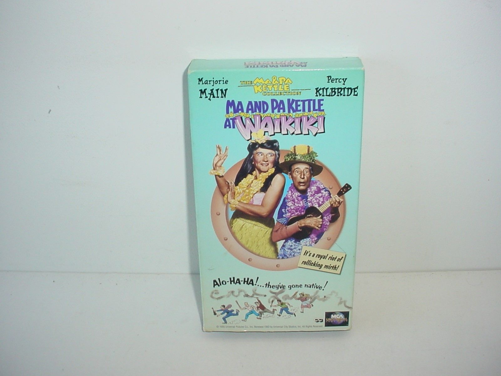 Primary image for Ma and Pa Kettle at Waikiki VHS Video Tape Movie