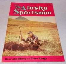 Vintage The Alaska Sportsman Magazine March 1941 Bering Sea Hunting - $11.95