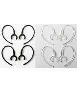 8 Large Clamp Black Clear USA Made Bluetooth Ear Hook Loop Clip 9mm repl... - $7.24