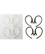 8 Small Clamp Black Clear USA Made Bluetooth Ear Hook Loop Clip replacem... - $7.24