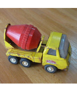 Vintage Tonka Mound Minn Yellow Metal Cement Mi... - $19.99