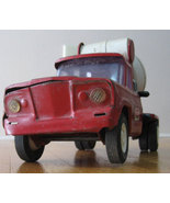 Tonka Mound Minn Red Metal Cement Mixer Truck - $59.99