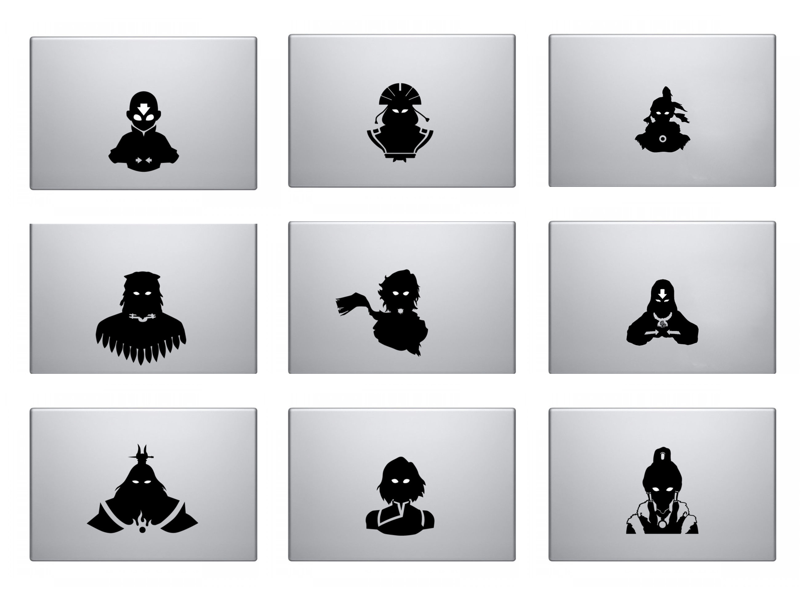 Avatar the Last Airbender Decal - the whole bundle Macbook ...