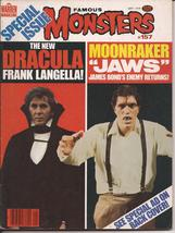 Famous Monsters Of Filmland #157 Dracula Frank Langella Moonraker Jaws - $11.95