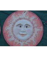 Terra Cotta Sun Man Decor..Indoor..Outdoor - $13.95