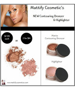 Contouring Matte Bronzer & Shimmery Highlighter... - $14.00
