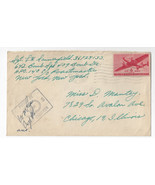 APO 637 Censored Army Cover 194? WWII 642 Bomb Sqd 409 Bomb Grp - €5,71 EUR