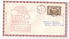 Canada 1931 FFC Edmonton to Winnipeg Airmail First Flight Cover Sc C1 Fe... - $9.95