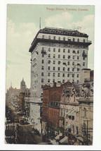 Canada Toronto Yonge Street Ontario Vtg J Valentine Postcard 1912 - $4.74