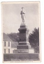 Center Barnstead NH Soldiers Monument GAR Civil War 1914  Vintage Postcard - $13.30