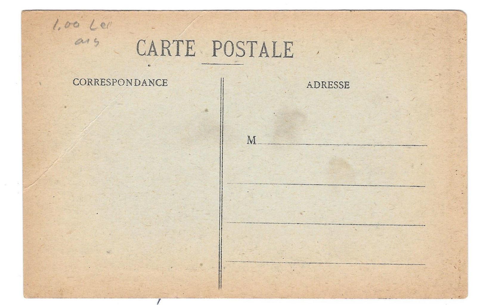 France Metz WWI President of Republic 319c Flag 1918 Place d'Armes Vtg Postcard