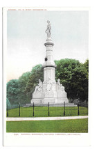 Gettysburg Civil War National Cemetery Monument Vtg UDB Postcard 1903 PA - $4.74