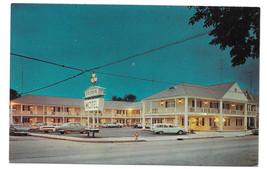 Gettysburg PA Colonial Motel US Rte 15 Vtg Postcard - $6.64